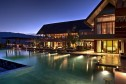 Panacea Retreat Koh Samui Praana Poolside Nighttime